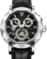 Graff » Technical » Mastergraff Chrono Tourbillon » Mastergraff Chrono Tourbillon WG Black Dial