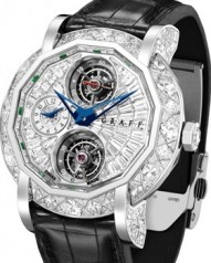 Graff » Technical » Mastergraff Double Tourbillon » Mastergraff Double Tourbillon GMT WG Diamonds