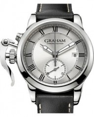 Graham » Chronofighter 1695 » 1695 Silver Chronograph » 2CXAY.S05A.L17S