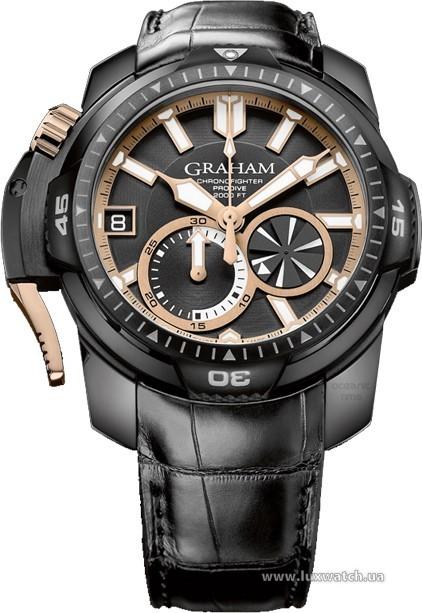 Graham » Chronofighter » Chronofighter ProDive Black & Gold » 2CDAZ.B04A