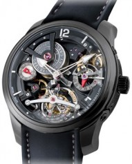 Greubel Forsey » Double Tourbillon 30° » Technique » Double Tourbillon Technique Black