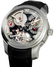 Greubel Forsey » Double Tourbillon 30° » Technique » Double Tourbillon Technique WG Silver