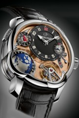Greubel Forsey » GMT » Greubel Forsey GMT » Greubel Forsey GMT Platine RG Dial
