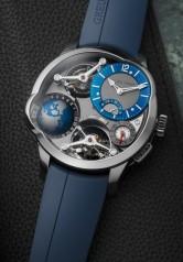 Greubel Forsey » Quadruple Tourbillon » GMT » GMT Quadruple Tourbillon Blue