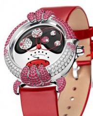 Harry Winston » Jewels That Tell Time » Diane » 526/LMMRWL.K/D3.IR