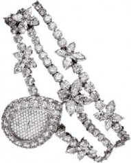 Harry Winston » Jewels That Tell Time » Marquesa Diamonds Drop » 512/LQPP.D/01