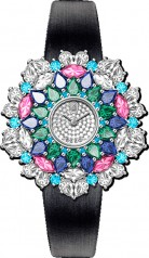 Harry Winston » Jewels That Tell Time » Winston Kaleidoscope High Jewelry Watch by Harry Winston » HJTQHM36PP002
