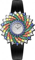 Harry Winston » Jewels That Tell Time » Winston Kaleidoscope High Jewelry Watch by Harry Winston » HJTQHM36PP003