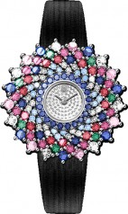 Harry Winston » Jewels That Tell Time » Winston Kaleidoscope High Jewelry Watch by Harry Winston » HJTQHM36PP004