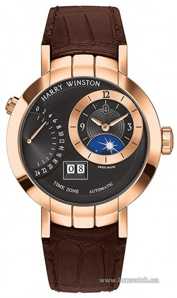 Harry Winston » Premier » Excenter TimeZone » PRNATZ41RR002
