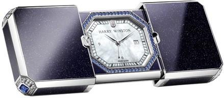 Harry Winston » Travel Time » Travel Time Desk Clock » HJTQAL66WW001