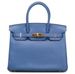 Hermes » Birkin » Birkin 30 » Birkin 30 Bleu Agate