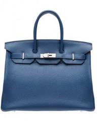 Hermes » Birkin » Birkin 35 » Birkin 35 Blue de malte