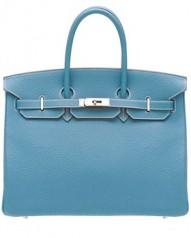 Hermes » Birkin » Birkin 35 » Birkin 35 Blue Jean