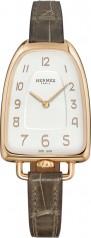 Hermes » Galop d'Hermes » Quartz 40.8 mm » Galop d'Hermes RG Grey Alligator