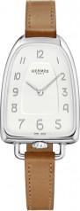 Hermes » Galop d'Hermes » Quartz 40.8 mm » Galop d'Hermes Steel Barenia