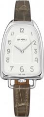 Hermes » Galop d'Hermes » Quartz 40.8 mm » Galop d'Hermes Steel Grey Alligator