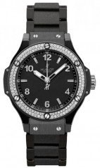 Hublot » _Archive » Big Bang 38mm Black Ceramic Black Magic Diamonds » 361.CV.1270.CM.1104