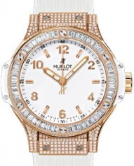 Hublot » _Archive » Big Bang 38mm Red Gold All White Diamonds » 361.PE.2010.RW.0904