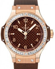 Hublot » _Archive » Big Bang 38mm Red Gold Cappuccino Diamonds » 361.PC.3380.RC.1904