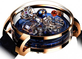 Jacob & Co. » Grand Complication Masterpieces » Astronomia Sky » AT110.40.AA.SD.A