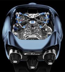 Jacob & Co. » Grand Complication Masterpieces » Bugatti Chiron Tourbillon » BU200.20.AK.AB.B