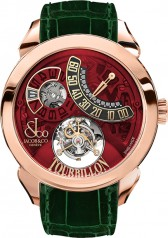 Jacob & Co. » Grand Complication Masterpieces » Palatial Flying Tourbillon Jumping Hours » PT510.40.NS.PR.A