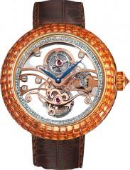Jacob & Co. » High Jewelry Masterpieces » Brilliant Skeleton Tourbillon » BT542.50.BO.RB.A
