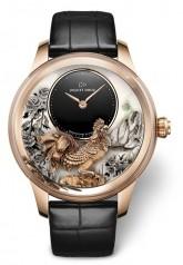 Jaquet Droz » Elegance Paris » Petite Heure Minute Rooster » J005023282