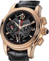 Jean Dunand » Timepieces » Grande Complication » Grande Complication RG BlackDial