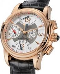 Jean Dunand » Timepieces » Grande Complication » Grande Complication RG SilverDial