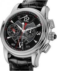 Jean Dunand » Timepieces » Grande Complication » Grande Complication WG BlackDial