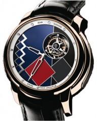 Jean Dunand » Timepieces » Tourbillon Orbital » Tourbillon Orbital RG Chinese Lacquer