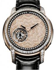 Jean Dunand » Timepieces » Tourbillon Orbital » Tourbillon Orbital RG Diamonds