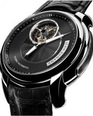Jean Dunand » Timepieces » Tourbillon Orbital » Tourbillon Orbital WG BlackDial