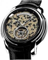 Jean Dunand » Timepieces » Tourbillon Orbital » Tourbillon Orbital WG Leopard