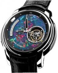 Jean Dunand » Timepieces » Tourbillon Orbital » Tourbillon Orbital WG MineralDial