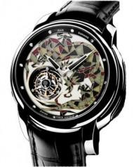 Jean Dunand » Timepieces » Tourbillon Orbital » Tourbillon Orbital WG MosaicDial