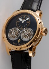 Louis Moinet » Extraordinary Pieces » Sideralis Evo Double Tourbillon » LM-46.50.50