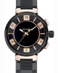 Louis Vuitton » Tambour in Black » Analogic Chronograph Large » Q118N0