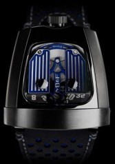 MB&F » _Archive » Horological Machines Horological Machine No.10 » HMX Bugatti Blue