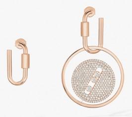 Messika » Jewellery » Lucky Eye Earrings » 10135-PG