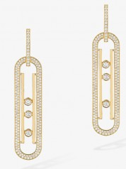 Messika » Jewellery » Move 10th Earrings » 06823-YG