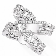 Messika » Jewellery » Move Addiction Ring » 06880-WG