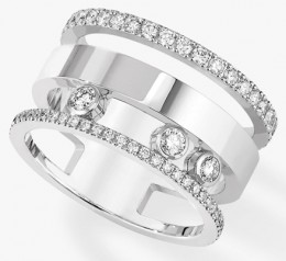 Messika » Jewellery » Move Romane Ring » 06659-WG