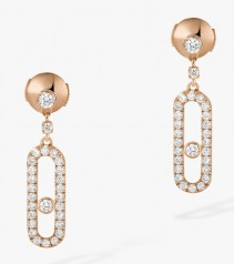 Messika » Jewellery » Move Uno Earrings » 05631-PG