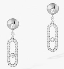 Messika » Jewellery » Move Uno Earrings » 05631-WG