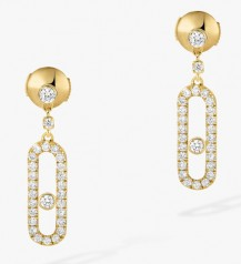 Messika » Jewellery » Move Uno Earrings » 05631-YG
