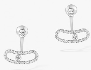 Messika » Jewellery » Move Uno Earrings » 06510-WG