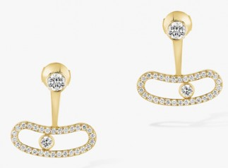 Messika » Jewellery » Move Uno Earrings » 06510-YG